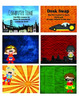 Superhero Themed Behavior Reward Coupons
