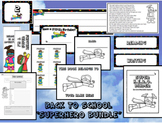Superhero Themed Classroom - Back to School BUNDLE!  ****N