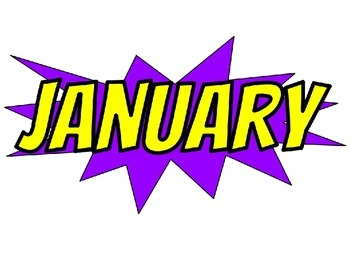 Superhero Themed Months