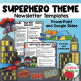 Superhero Themed Newsletter Templates
