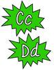Superhero Word Wall Headers~Green