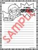 Writing Paper - Superhero Theme