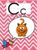 Superhero and Chevron Classroom Alphabet Line