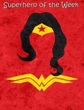 Superhero of the Week Posters