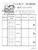 Superheroes - Blank Hundreds Chart: Fractions / Decimals /