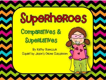 Comparative & Superlative Adjectives -- A CCSS Language Sm