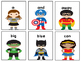 Superheroes Dolch Sight Word Game BUNDLE