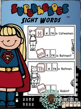 Superheroes Responsive Reader (WHERE, HERE, THERE) More Th