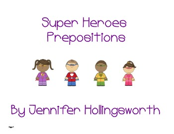 Superheroes Prepositions