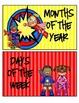 Superheroes Superman Calendar Set