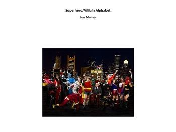Superheroes/Villains Alphabet