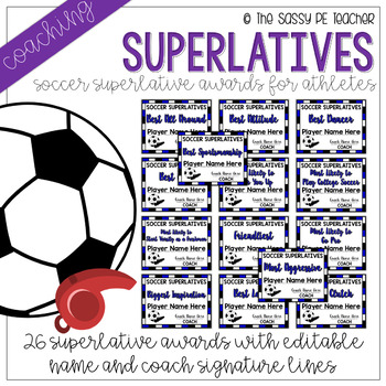 Superlative Awards - Soccer