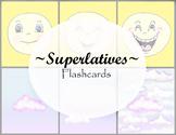 Superlatives Flashcards BUNDLE - Vocabulary