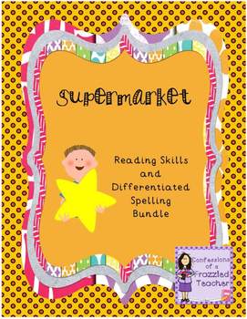 Supermarket Reading and Spelling Bundle (Scott Foresman Re