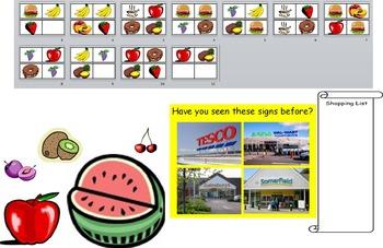 Supermarket Shops Community Local Area FS Reception KS1 Re