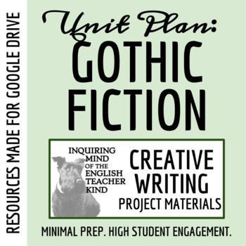 Halloween Writing for High School - Prompt, Rubric, Outlin
