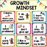 Very First Growth Mindset Posters