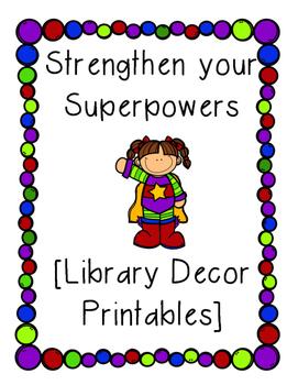 Superpowers Classroom Decor [FREEBIE]