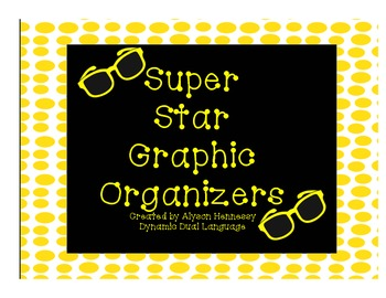 Superstar Graphic Organizers (Fiction and Non-Fiction Texts)