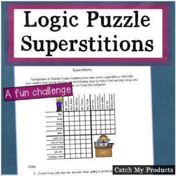 Superstitious Logic Problem
