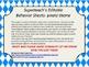 Superteach's Behavior Communication Sheet - Pirate theme (