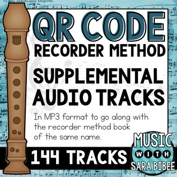 Supplemental Audio Tracks- QR Recorder Method Book 1
