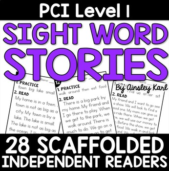 Supplemental Reading Practice Short Stories for PCI Level