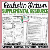 Supplemental Printables for the unit:'Realistic Fiction Un