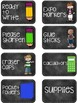 Supply Labels - Chalkboard Theme!