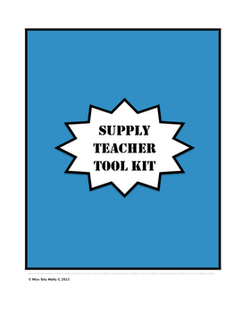 Supply Teacher Tool Kit