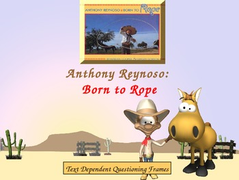 Support Material for Anthony Reynoso: Born to Rope by Ging