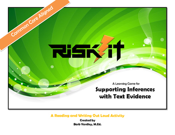 Supporting Inferences with Text Evidence: A Learning Game