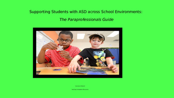 Supporting Students with Autism Spectrum Disorders Wokshop