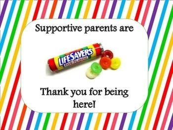 Supportive parents are lifesavers/ Los padres que brindan