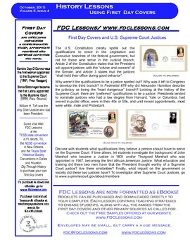 Newsletter - Supreme Court Justices - John Marshall and Th
