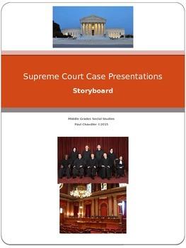 Supreme Court Presentations---Storyboard