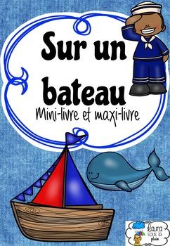 Sur un bateau - Mini-livre pour lecture guidée (B) (french