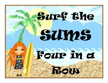 Surf the Sums: Differentiated Addition Centers