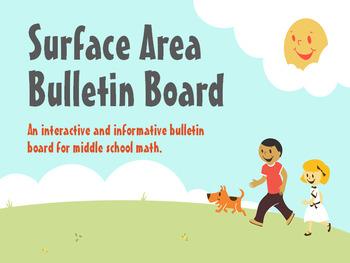 Surface Area Bulletin Board