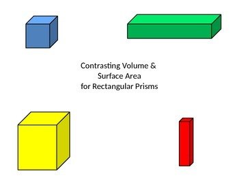 Surface Area and Volume: What's the Difference?   Contrast