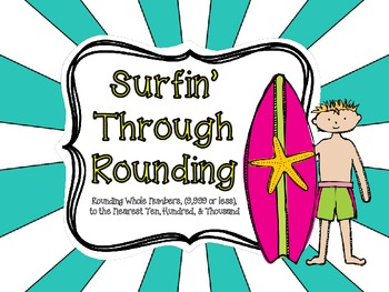Surfin' Through Rounding-Virginia Math SOL 3.1b