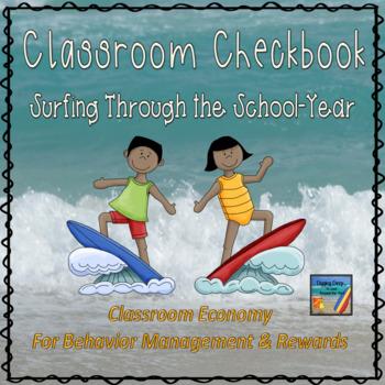 Surfinging Through the School Year ~ Checkbook