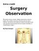 Surgery Observation Project  (E.C.)