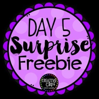 Surprise Freebie #5 {Creative Clips Digital Clipart}