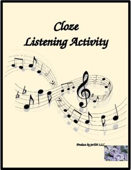 Survie by Youssou N'Dour Cloze listening activity