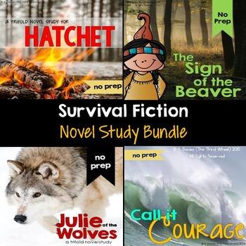 Hatchet Bundle Foldable Novel Study Unit