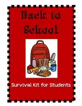 Survival Kit for Back to School