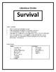 Survival Literature Circle and Inquiry Unit - Complete Pri