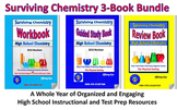 Surviving Chemistry 3-Book Bundle - 2015 Revisions: A Whol