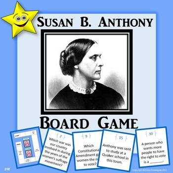 Susan B. Anthony Board Game